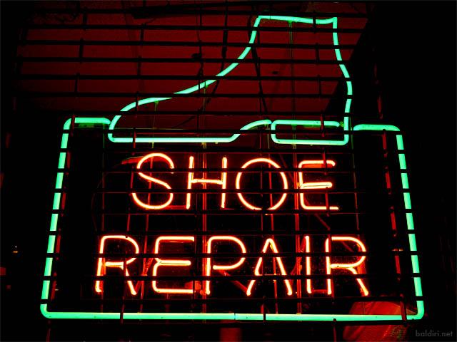 baldiri : shoe repair : baldiri08092301.jpg