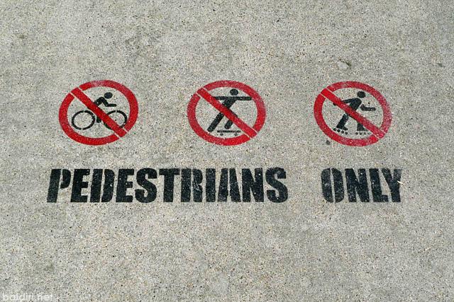 baldiri : pedestrians only : baldiri09072501