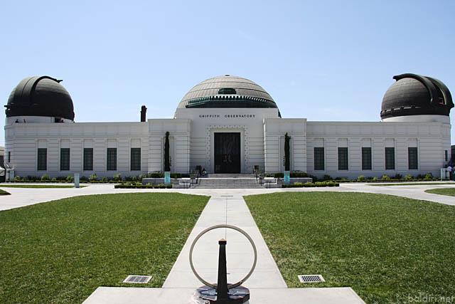 baldiri : griffith observatory building : baldiri09082701