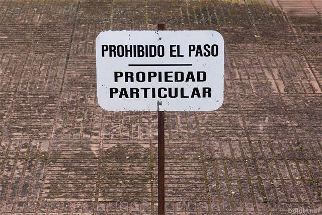 baldiri : propiedad particular