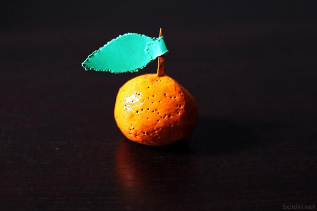 baldiri : mandarina