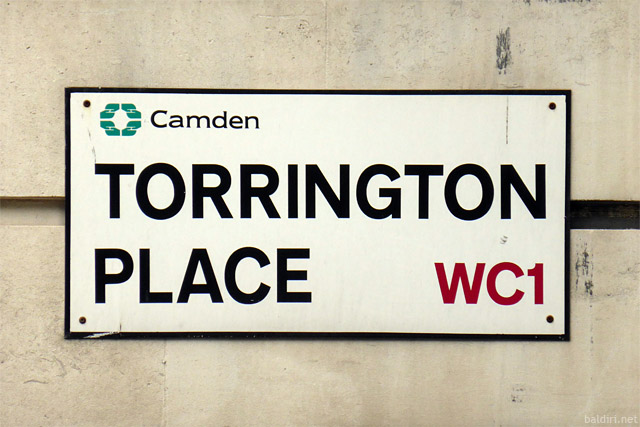 baldiri : torrington place