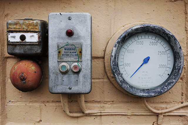 baldiri : test alarm before filling