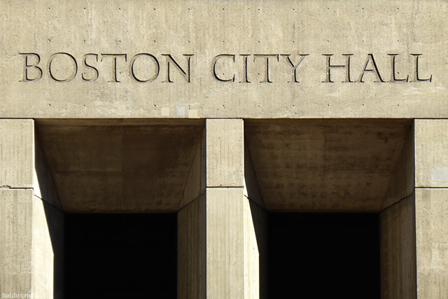 baldiri : boston city hall