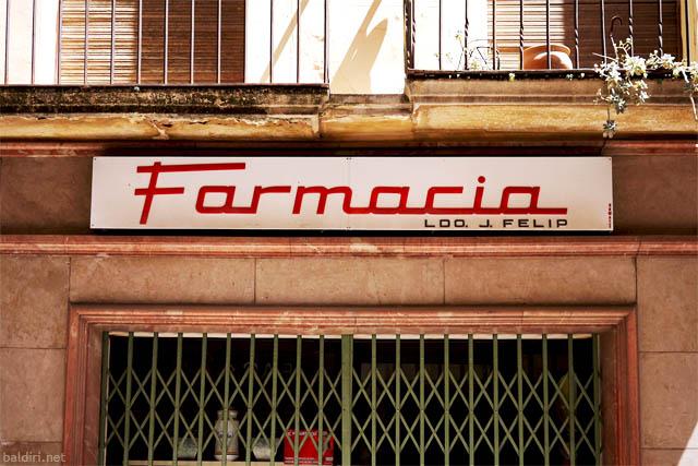 baldiri : farmacia