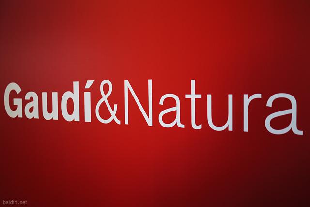baldiri : gaudi & natura
