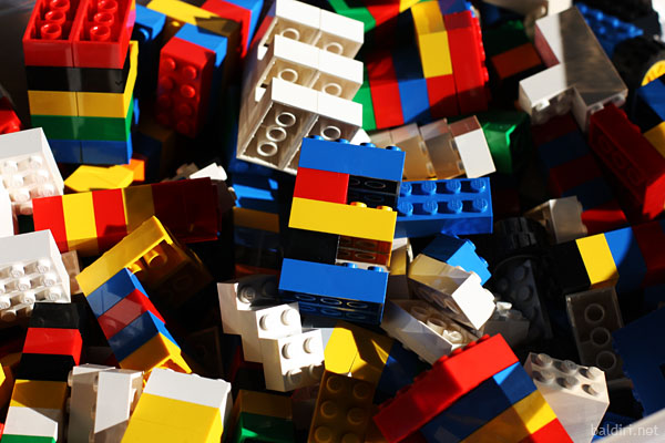 baldiri : e with lego
