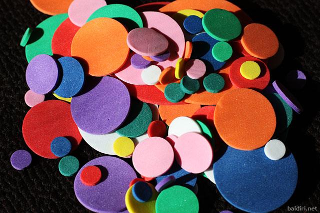 baldiri : eva sponge circles